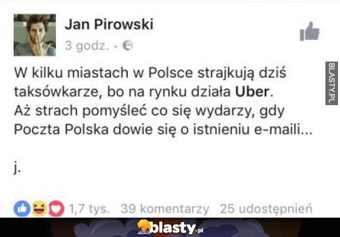 Strajk uber
