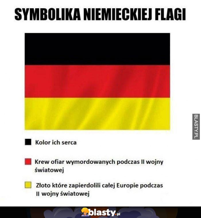 Symbolika niemieckiej flagi