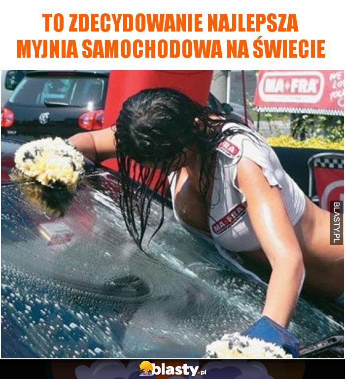 To zdecydowanie najlepsza myjnia samochodowa na świecie