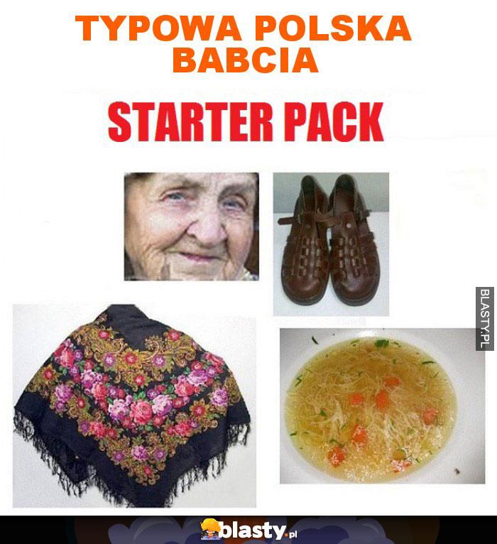 Typowa Polska babcia