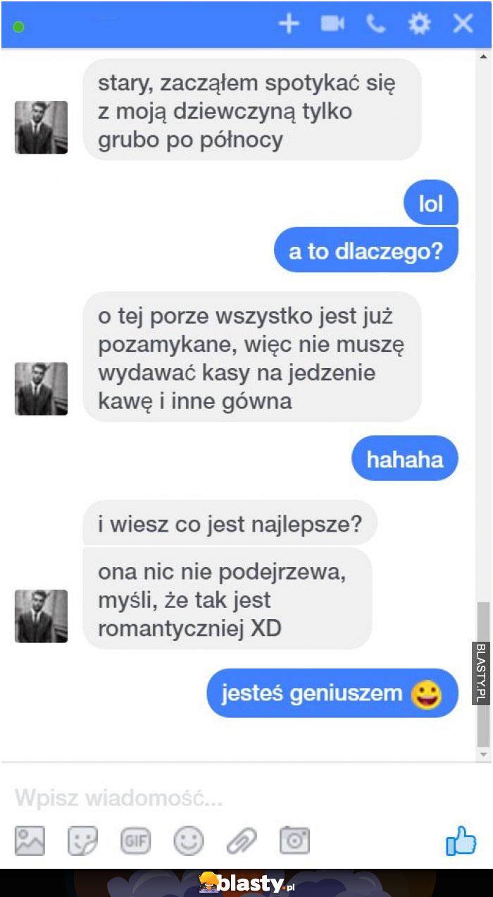 Typowy biedny romantyk