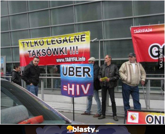 Uber = hiv