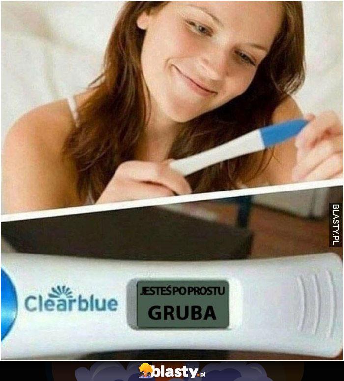 Wynik testu ciążowego