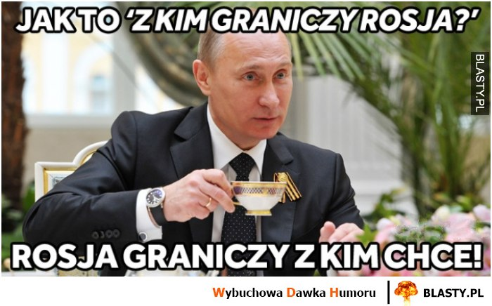 Z kim graniczy Rosja?