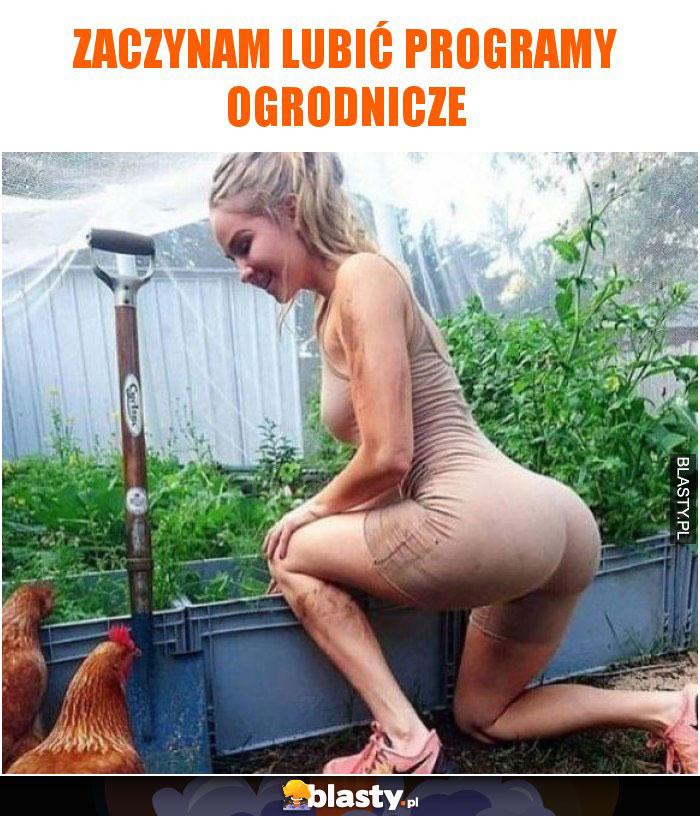 Zaczynam lubić programy ogrodnicze