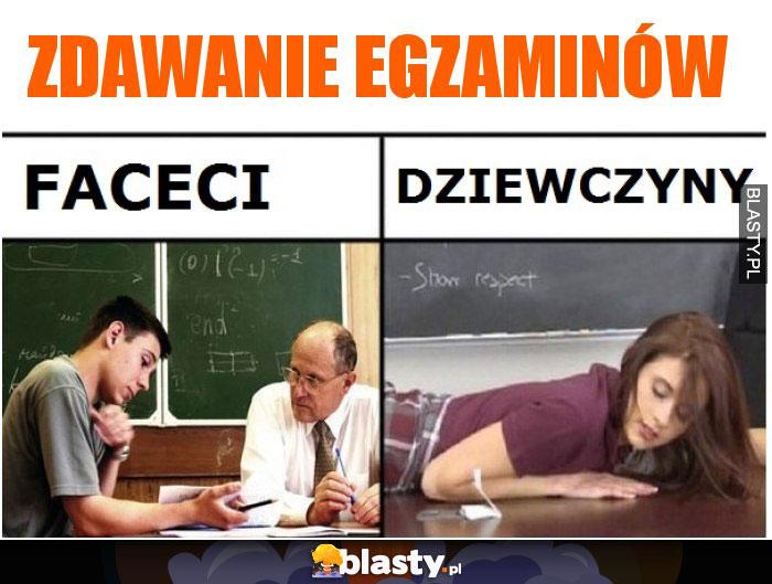 Zdawanie egzaminów