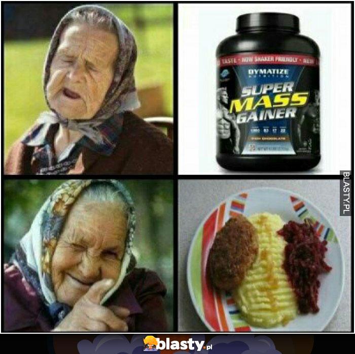 Babcia odżywka
