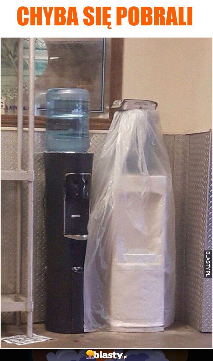 Chyba się pobrali