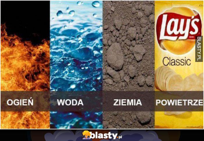 Cztery żywioły natury
