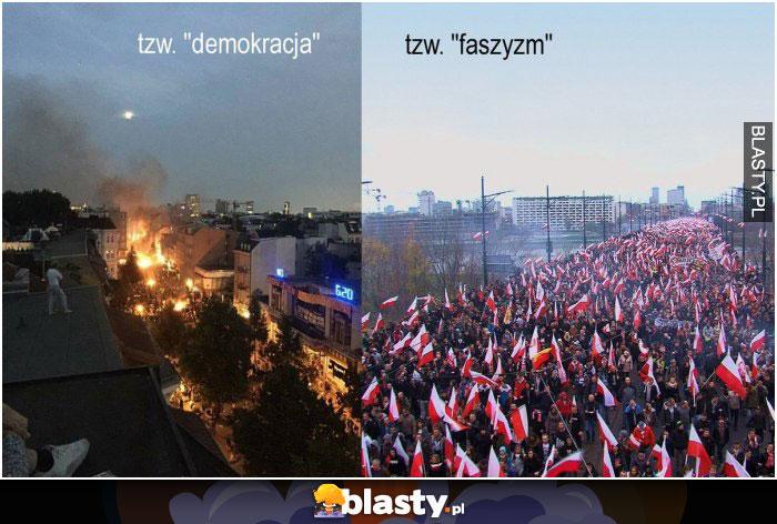 Demokracja vs faszyzm