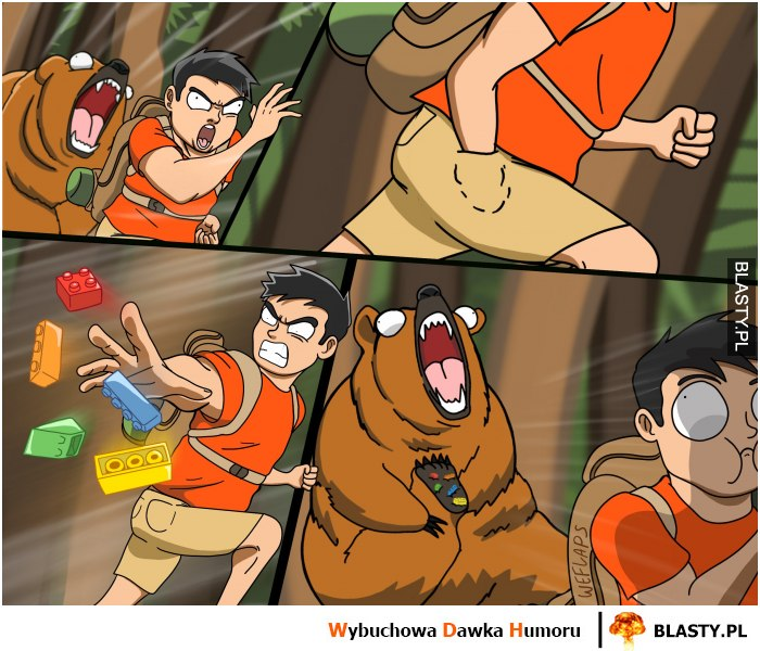 Goni go niedźwiedź