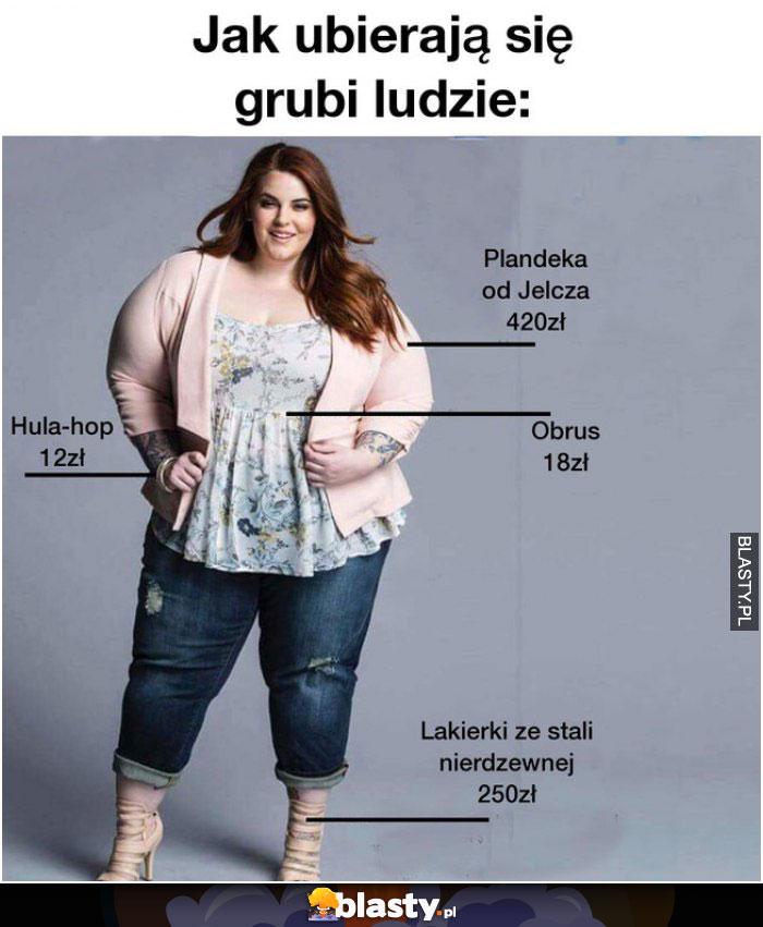 Jak ubierają się grubi ludzie