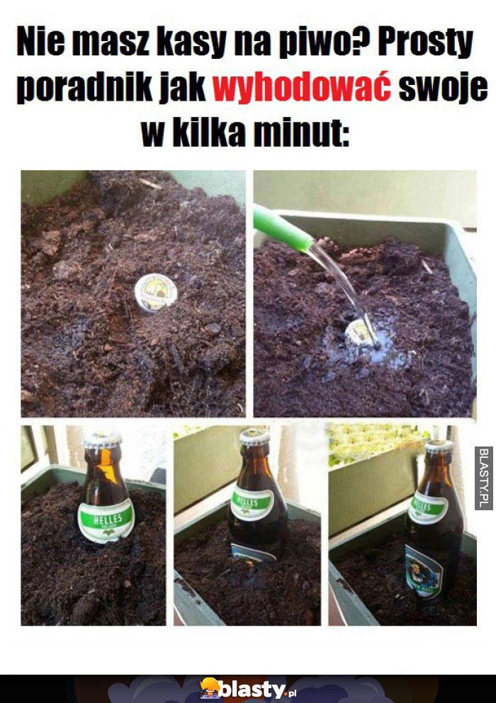 Kiedy nie masz kasy na piwo