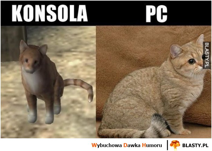 Konsola VS PC