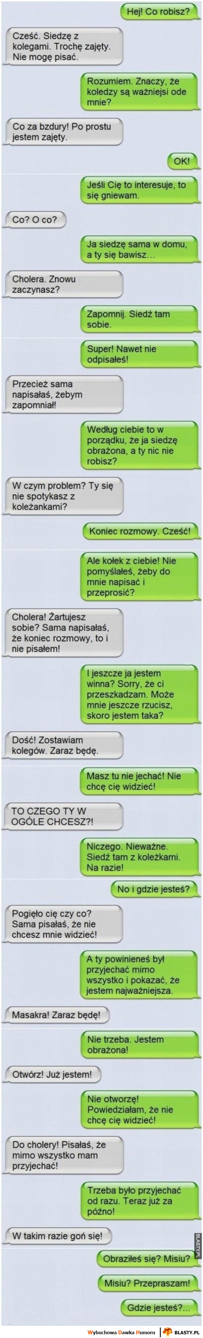 Krótka rozmowa z kobietą