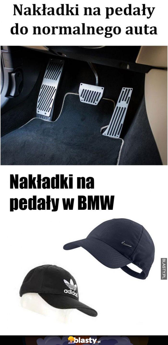 Nakładki na pedały do BMW