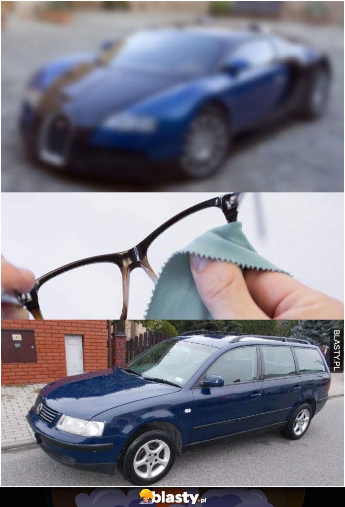 Okulary takie są