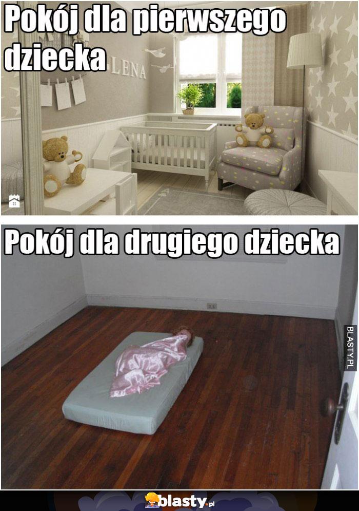 Pokój dla pierwszego dziecka