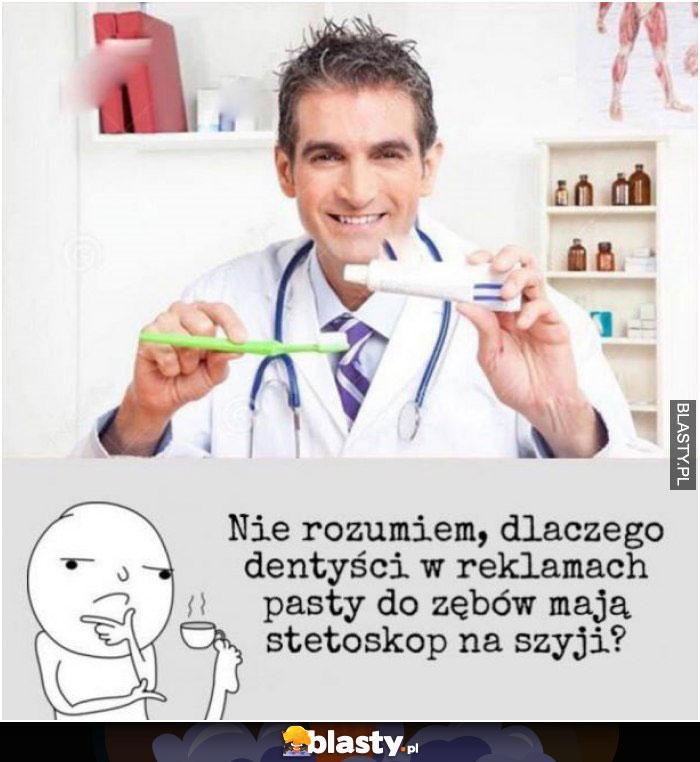 Reklama pasty do zębów