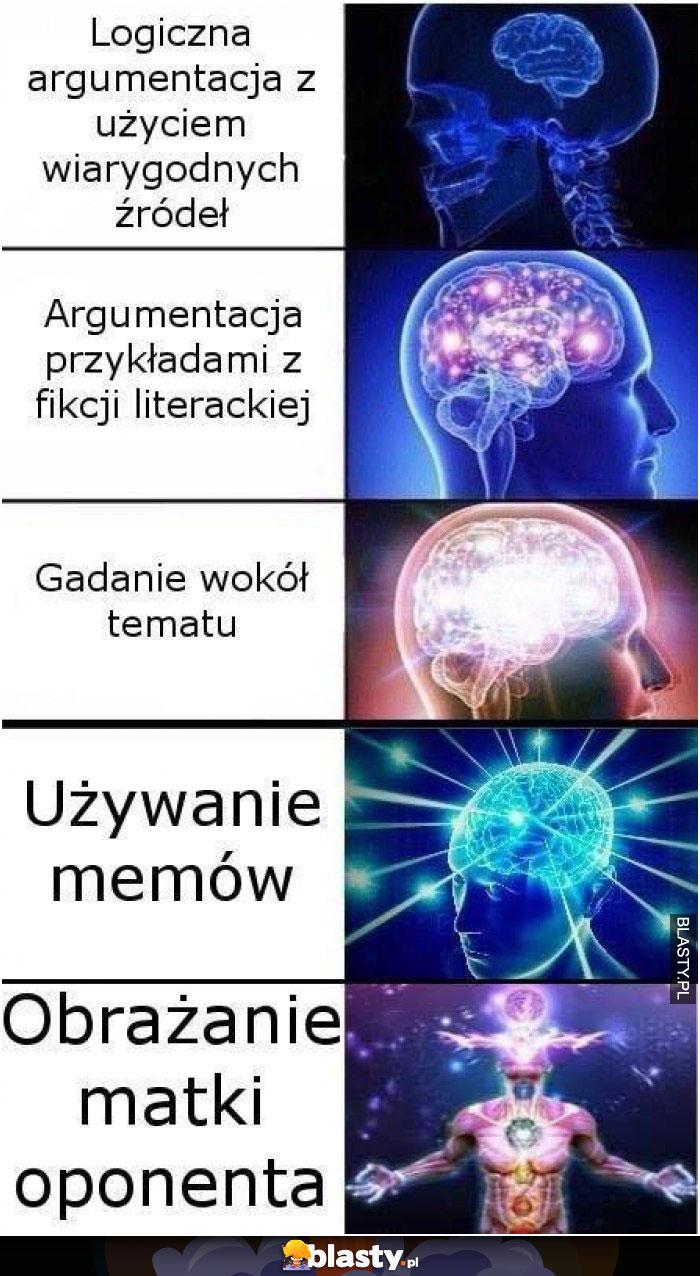 Rozmowa na logiczne argumenty