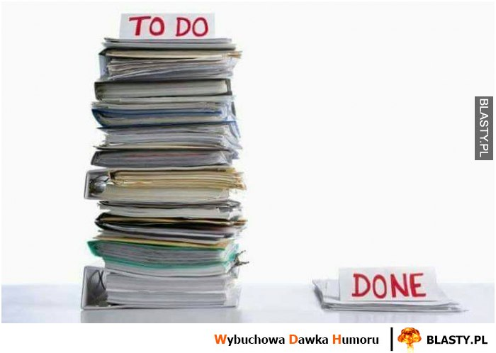 To do vs done