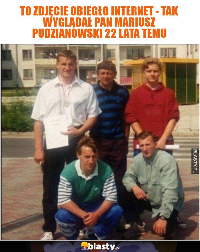 To zdjęcie obiegło internet - tak wyglądał Pan Mariusz Pudzianowski 22 lata temu