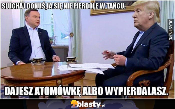 trump and duda