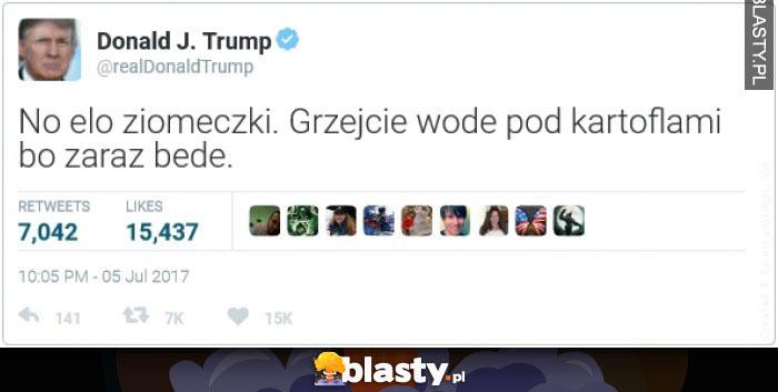 Trump przybywa
