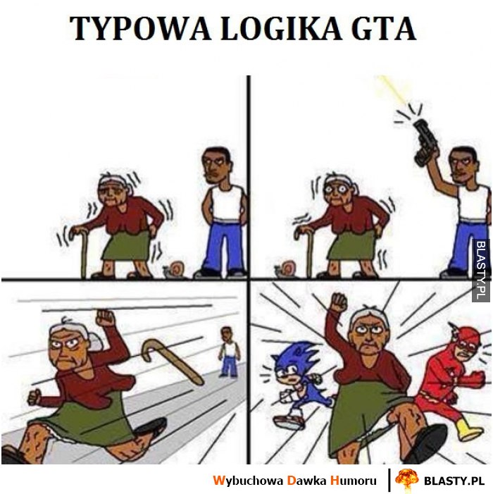 Typowa logika GTA