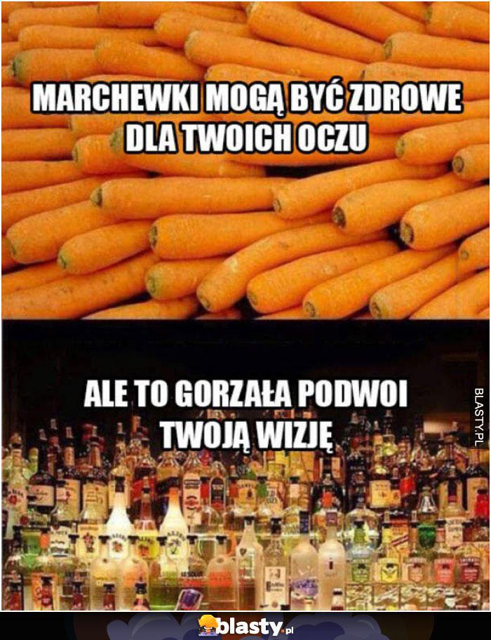 Wódka czy marchewka