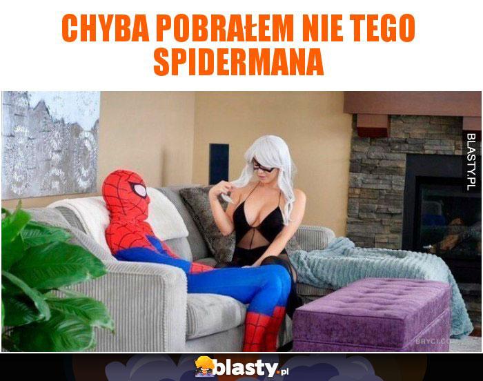 Chyba pobrałem nie tego spidermana
