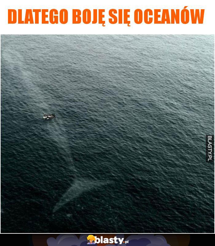 Dlatego boję się oceanów