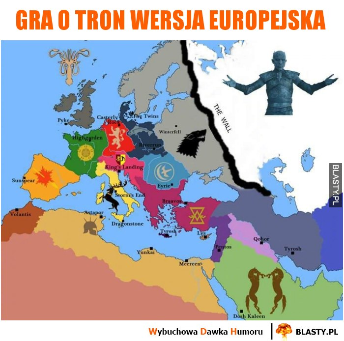 Gra o tron wersja europejska