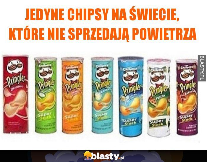 Jedyne chipsy na świecie, które nie sprzedają powietrza