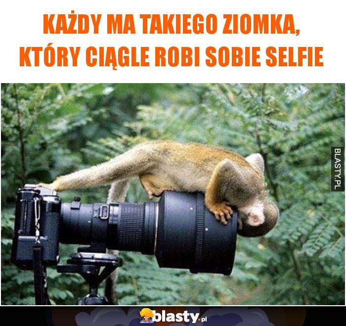 Każdy ma takiego ziomka, który ciągle robi sobie selfie