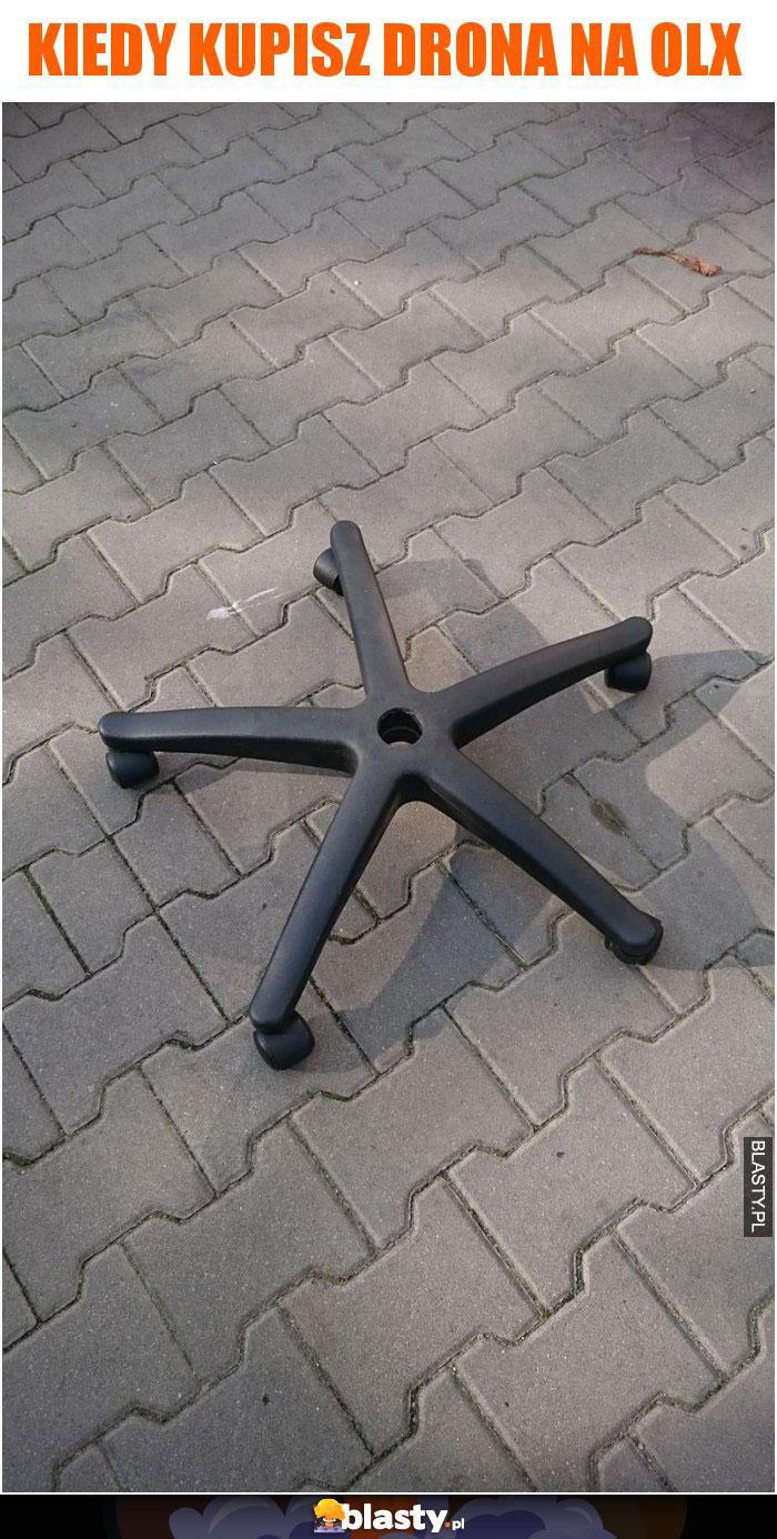 Kiedy kupisz drona na olx