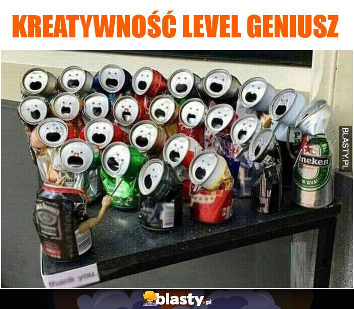 Kreatywność level geniusz