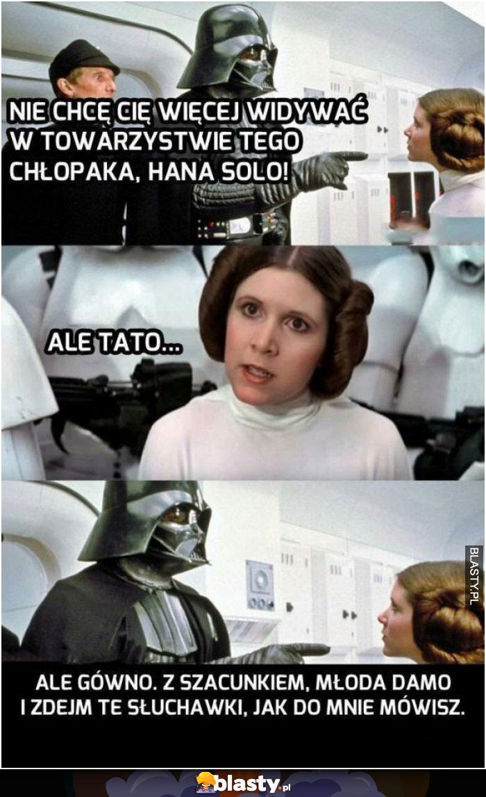 Lord Vader i Han Solo
