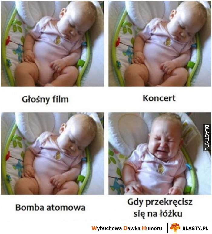 Reakcje dziecka