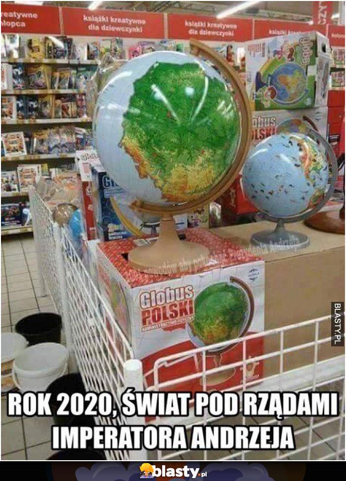 Rok 2020 świat pod rządami imperatora andrzeja