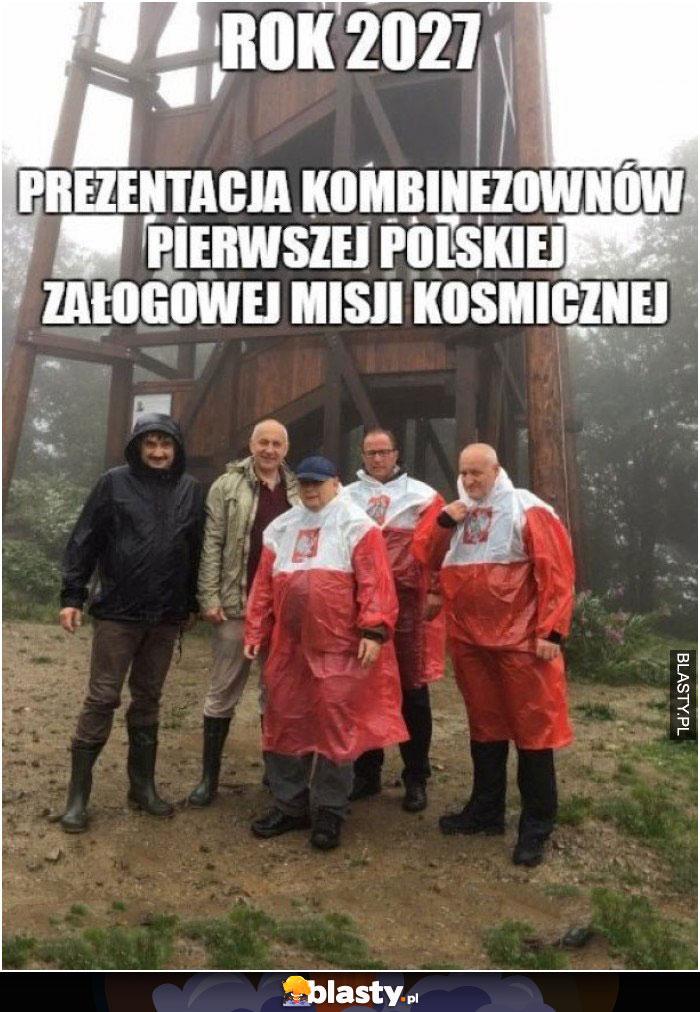 Rok 2027 Polska misja kosmiczna