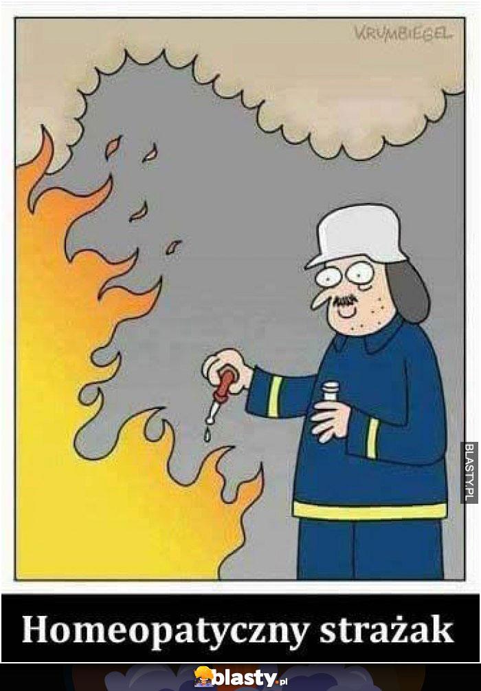 Homeopatyczny strażak