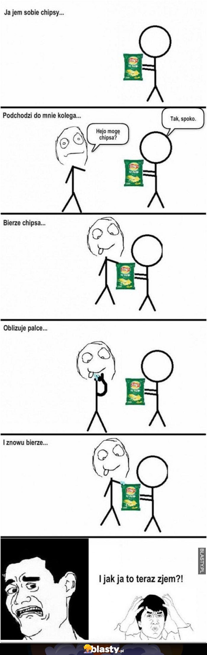 Jak jedzą chipsy moi koledzy
