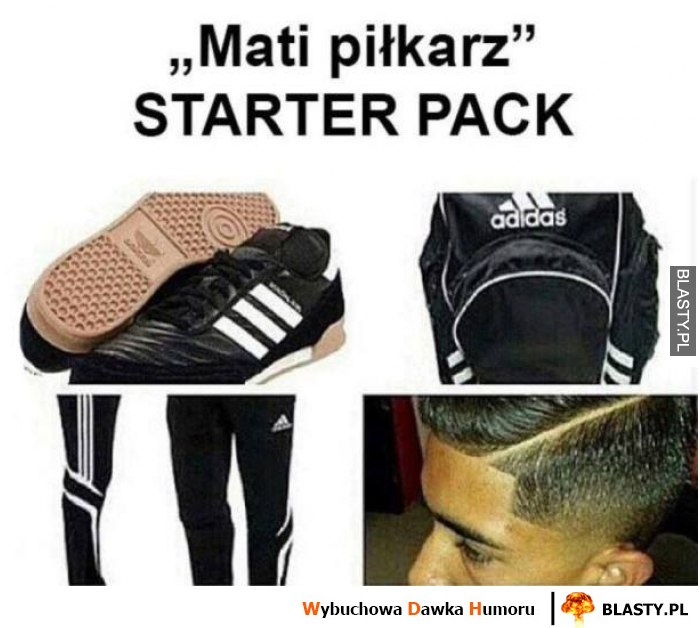 Mati piłkarz starter pack
