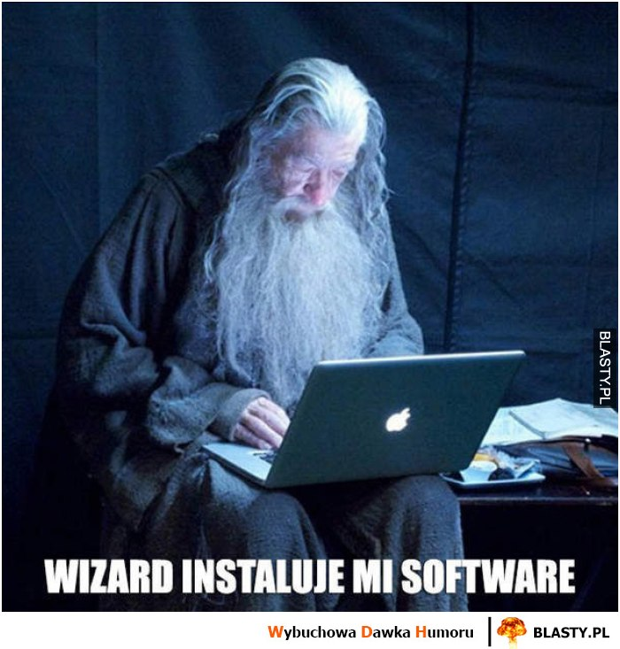 Wizzard instaluje mi software
