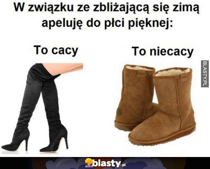 Cacy vs niecacy