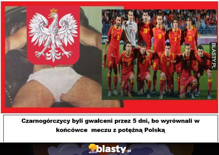 Czarnogórcy byli gwałceni