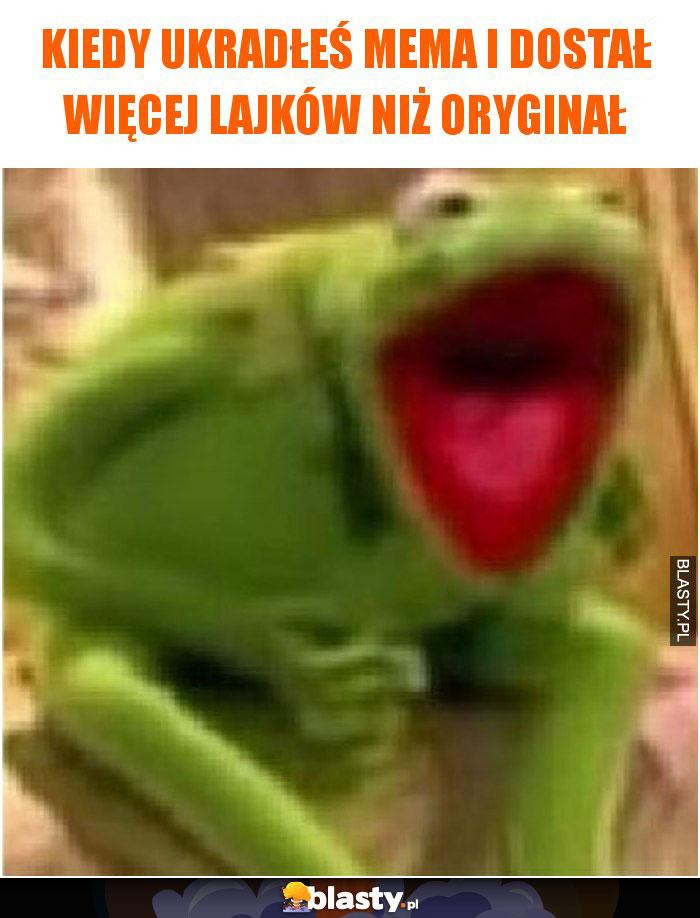 Kiedy ukradłeś mema i dostał więcej lajków niż oryginał