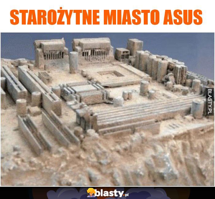 Starożytne miasto ASUS