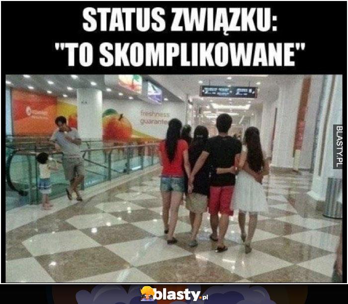 Status związku - to skomplikowane